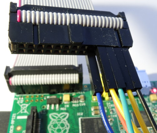 STM32 and JTAG via Raspberry - log2